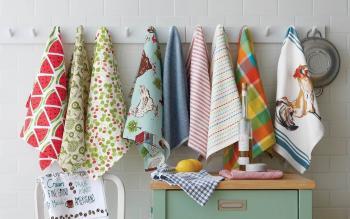 Как выбрать практичные и качественные кухонные полотенца
