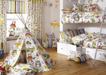 Текстиль в детскую – уют в маленьком мире малыша