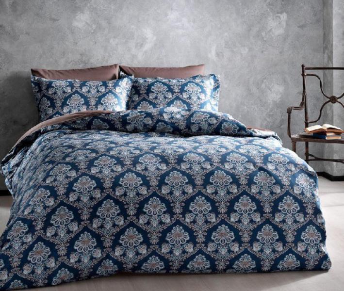 Комплект постельного белья Tivolyo Home Сатин принт Collins