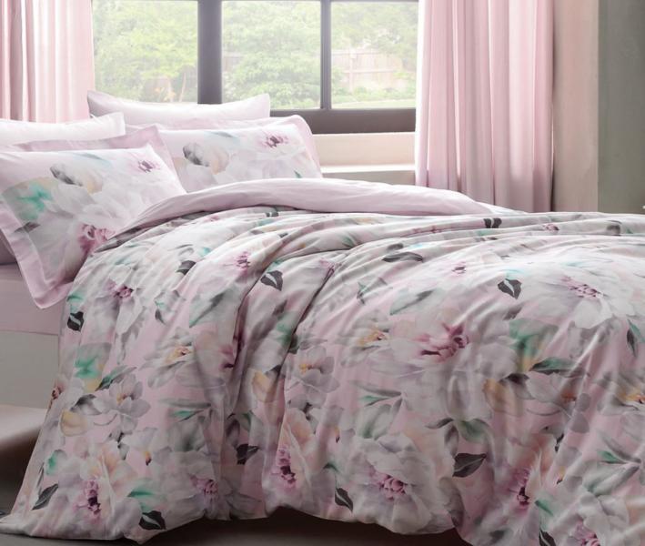 Комплект постельного белья Tivolyo Home Сатин принт Fulmine