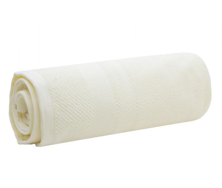 Полотенце махровое Китай 420 гр THSS0119 Молочный