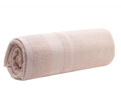 Полотенце махровое Китай 420 гр THSS0119 Пудровый