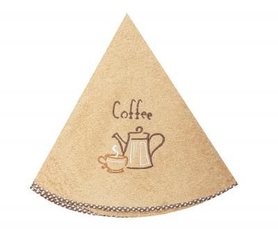 Полотенце кухонное Дорук круглое 70 см Кофе