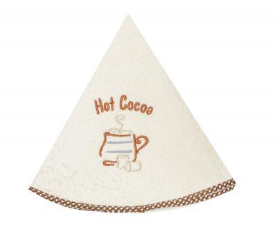 Полотенце кухонное Дорук круглое 70 см Горячий Какао