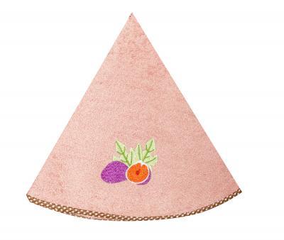 Полотенце кухонное Дорук круглое 70 см Инжир