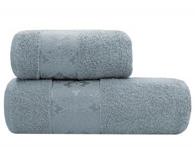 Полотенце Miss Cotton 400 гр Lael Towel Серо-Голубой