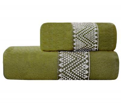 Полотенце Lael Towel Треугольники Хаки