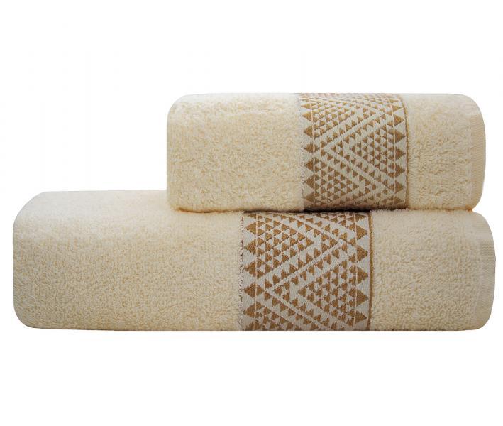 Полотенце Lael Towel Треугольники Песочный