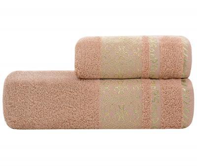 Полотенце Lael Towel Восточный орнамент Персиковый