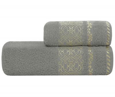Полотенце Lael Towel Восточный орнамент Серый