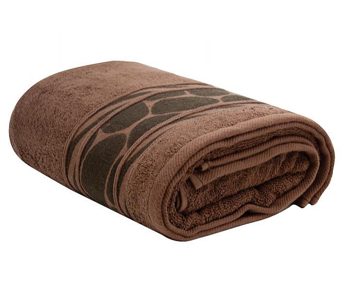 Полотенце махровое Турция 480 гр Дорук Красно-Коричневый