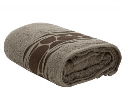 Полотенце махровое Турция 480 гр Дорук Серо-Коричневый