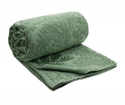 Простыня махровая Мирикл 5191 Зелёный