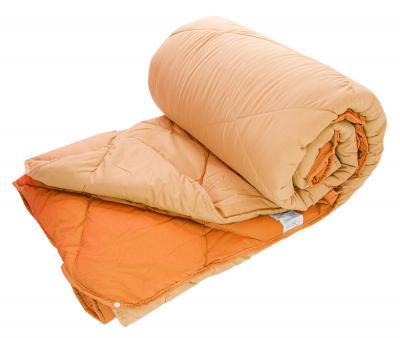 Одеяло двойное с кнопками Dophia Le Vele Персиковое