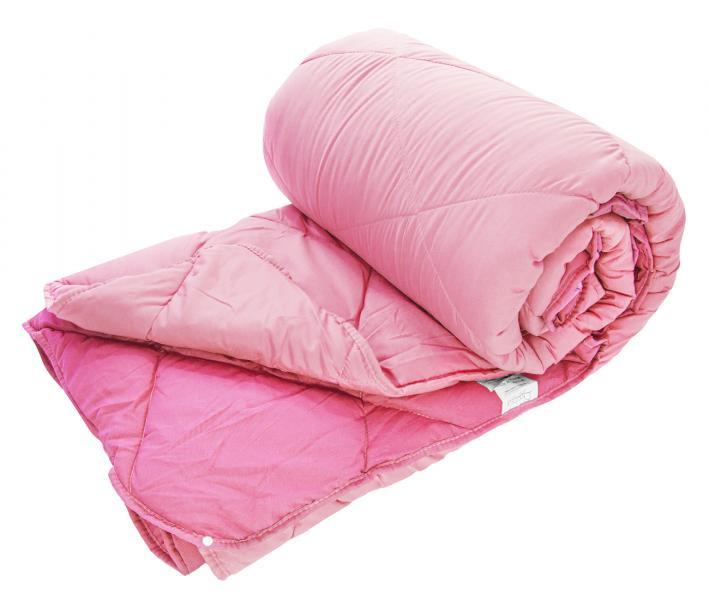 Одеяло двойное с кнопками Dophia Le Vele Розовое