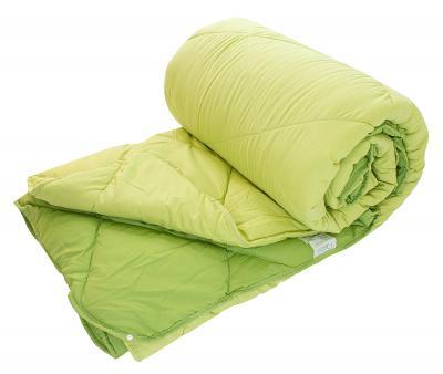 Одеяло двойное с кнопками Dophia Le Vele Зеленое