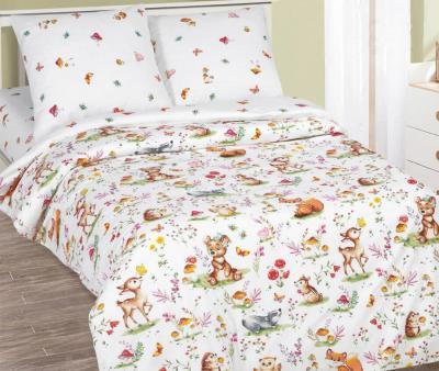 Комплект постельного белья Арт-постель 912 поплин Лесные друзья