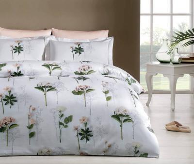Комплект постельного белья Tivolyo Home Сатин принт Nadine
