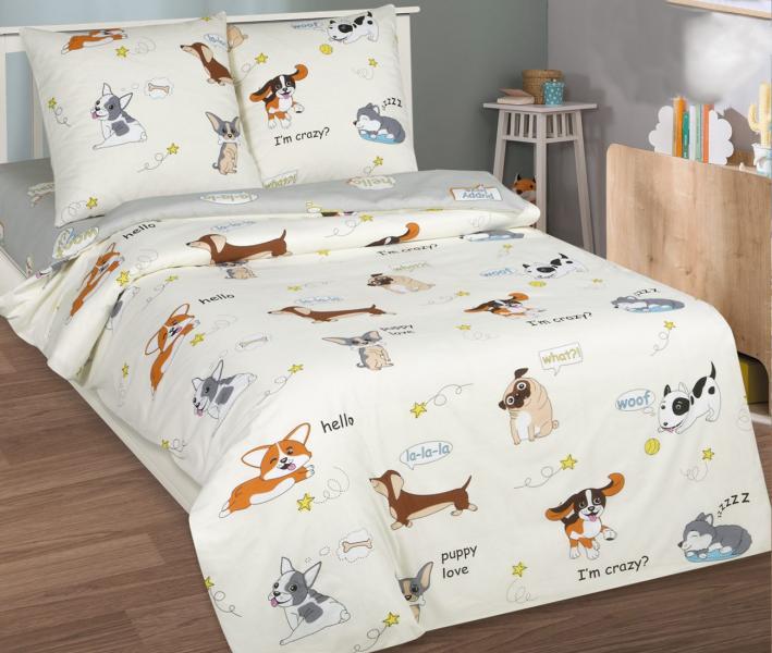 Комплект постельного белья Арт-постель поплин Люси