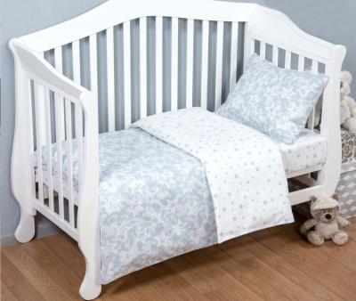 Комплект постельного белья Арт-постель поплин Звездочет серый