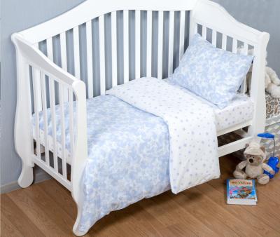 Комплект постельного белья Арт-постель поплин Звездочет синий