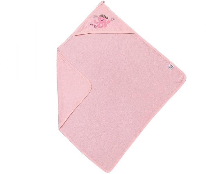 Полотенце детское с капюшоном Ramel 303 Розовый осьминог