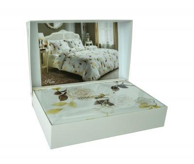 Комплект постельного белья Tivolyo Home Сатин Poem