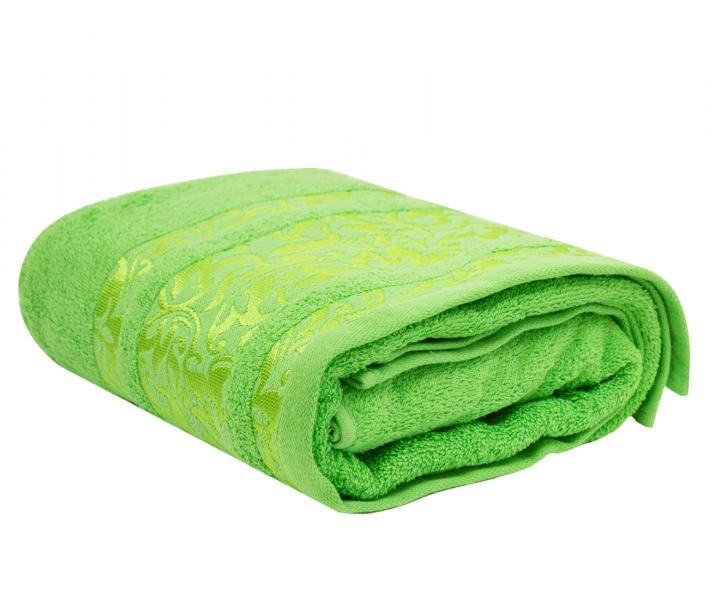 Полотенце махровое Турция 480 гр Дорук Вензеля Зеленый