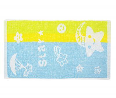 Полотенце детское махровое 25х50 Star Голубое