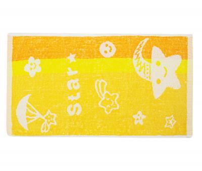 Полотенце детское махровое 25х50 Star Оранжевое