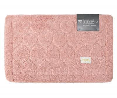 Коврик для ванной Ворс Розовый