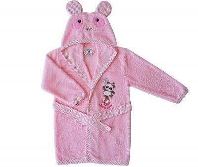 453 Халат детский RAMEL 1-4 года Розовый