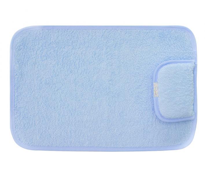 Полотенце детское для пеленания 428 Голубой
