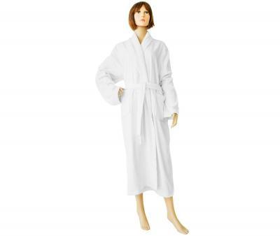 Женский халат махровый Белый 380 гр Турция