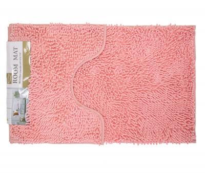 Набор ковриков лапша 2 шт 50*80+50*40 см Розовый