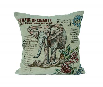 Наволочка декоративная принт Слон