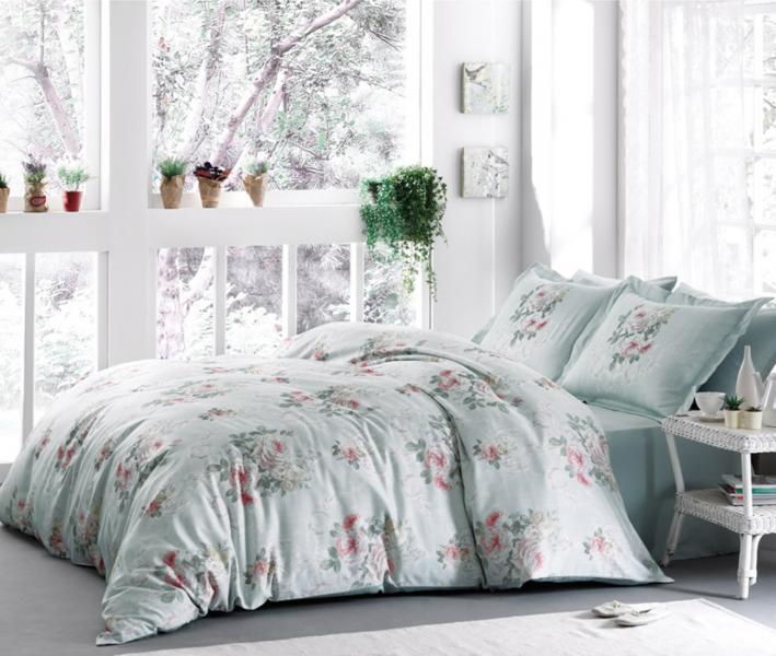 Комплект постельного белья Tivolyo Home Сатин принт Rose Hill