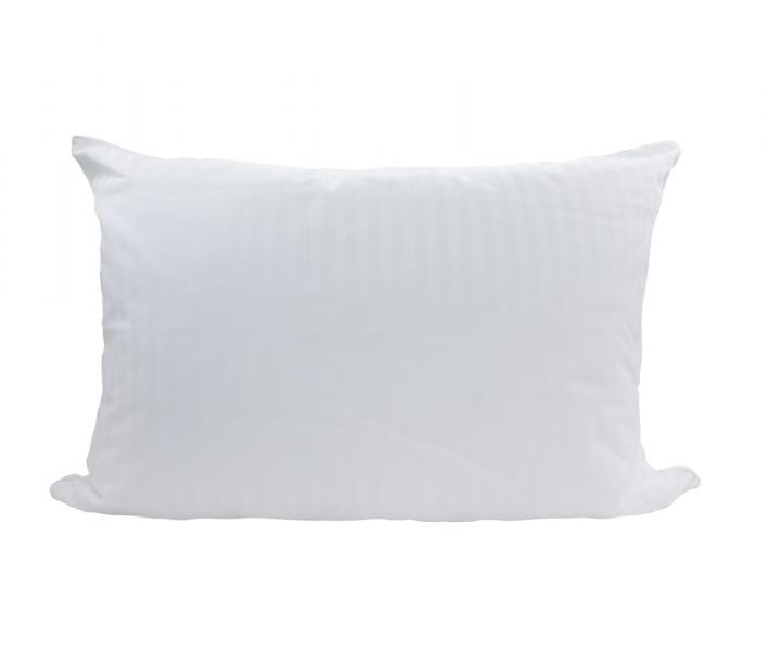 Подушка Люкс Плюс экософт-сатин