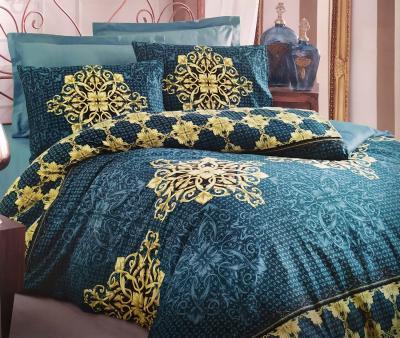 Комплект постельного белья Коттон Бокс маскулин ранфорс Azura Petrol