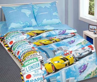 Комплект постельного белья Арт-постель 912 поплин Суперкар