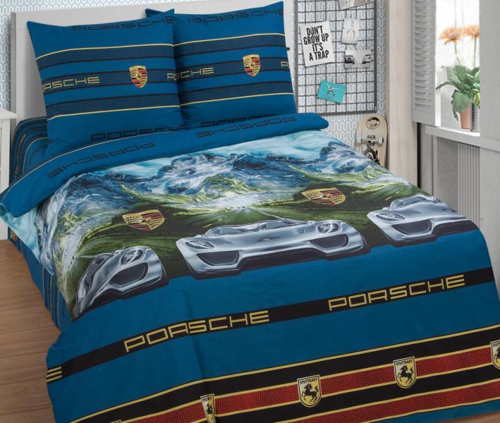 Комплект постельного белья Арт-постель 910 поплин Адреналин