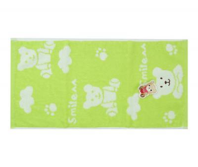 Полотенце детское махровое 25х50 Bear Салатовый