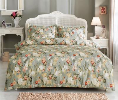 Комплект постельного белья Tivolyo Home Сатин принт Angelica