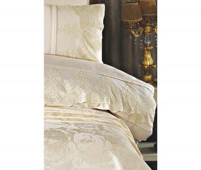 Комплект постельного белья Tivolyo Home Евро+ покрывало 240*260 Arin Beg