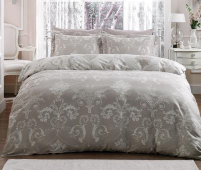 Комплект постельного белья Tivolyo Home Сатин принт Arredo Крем