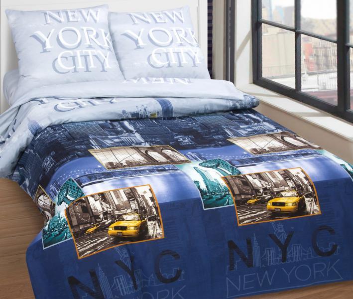 Комплект постельного белья Арт-постель поплин Нью-Йорк