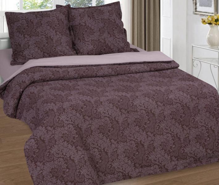 Комплект постельного белья Арт-постель поплин Вирджиния Шоколад