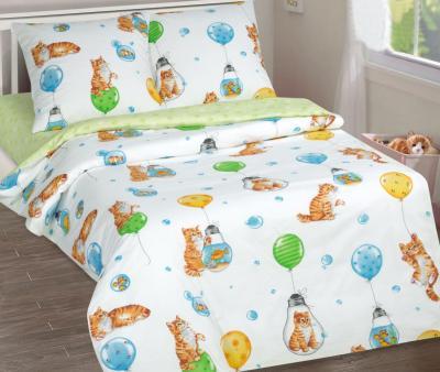 Комплект постельного белья Арт-постель 912 поплин Барсик