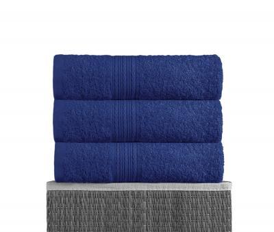 Полотенце махровое  Байрамали Тёмно-синий