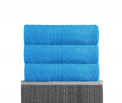 Полотенце махровое Байрамали  Голубой
